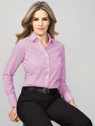Vermont Ladies Long Sleeve Shirt (BC40210)