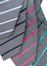 Mens Single Contrast Stripe Tie Colour Swatches