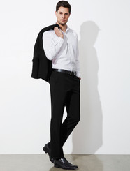 Classic Mens Flat Front Pant