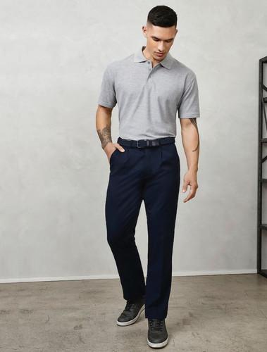 Mens Detroit Flexi Waist Trousers