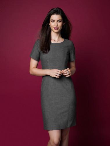 Ladies Rococo Short Sleeve Shift Dress