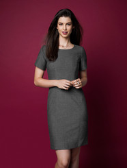 Ladies Rococo Short Sleeve Shift Dress
