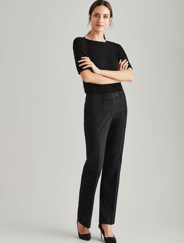 Relaxed Fit Wool Blend Pant