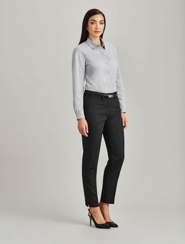 Ladies Slim Fit Wool Blend Pant