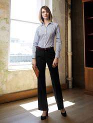 Adjustable Waist Cool Stretch Plain Pant
