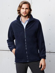 Biz Collection Plain Microfleece Mens Jacket