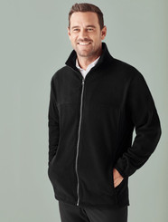 Plain Microfleece Mens Jacket