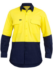 Hi Vis Yellow/Navy X Airflow™ Ripstop Shirt