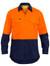 Hi Vis Orange/Navy X Airflow™ Ripstop Shirt
