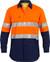 3M Taped Hi Vis Orange/Navy X Airflow™ Ripstop Shirt