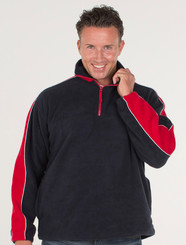 JB's Wear Contrast Polar Fleece Jumper