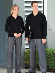 Merino Wool Mens & Ladies Zip Pullover by Gear for Life