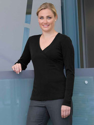 Merino Wool Crossover Top