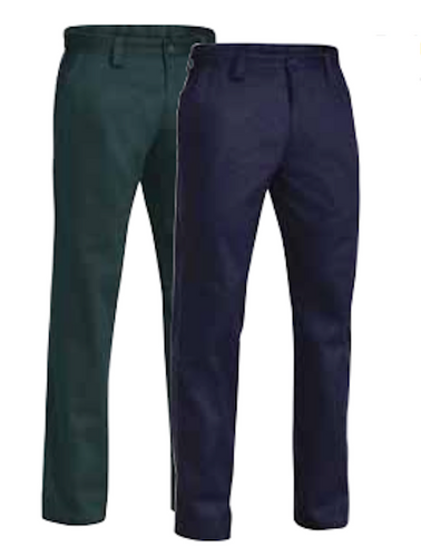 Bisley New Cotton Drill Work Pant