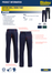 Bisley New Cotton Drill Work Pant Spec Sheet