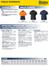 Hi Vis Cotton Backed Long Sleeved Polo Shirt Spec Sheet