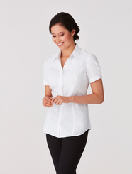 City Collection City Stretch Classic Short Sleeved Shirt