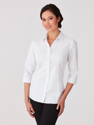 City Collection City Stretch Classic 3/4 Sleeved Shirt