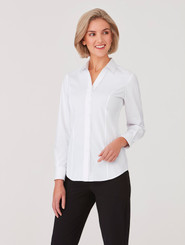 City Collection City Stretch Classic Long Sleeved Shirt