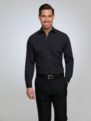 City Collection Mens City Stretch® Martini Long Sleeved Shirt