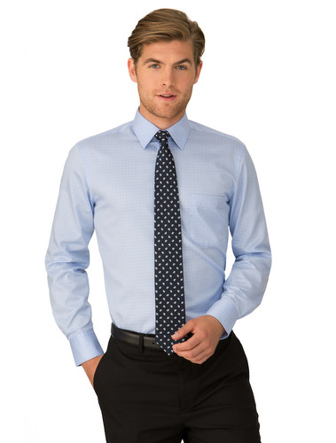 ETI Capri Check 100% Cotton Mens L/S Shirt