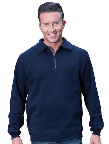 JB's Wear 1/2 Zip Fleecy Sweater