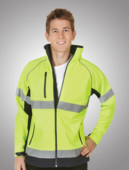 Hi Vis Soft Shell D/N Jacket