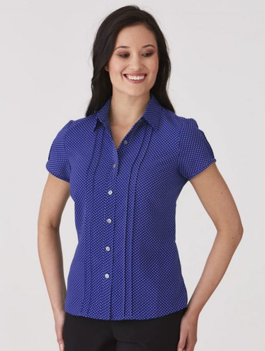 City Stretch Spot S/S Shirt