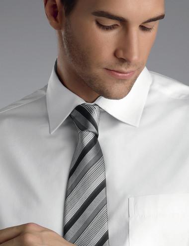 John Kevin Mens Long Sleeve Oxford Shirt