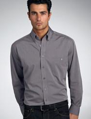 John Kevin Mens Long Sleeve Chambray Shirt- No Returns