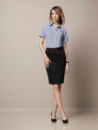 Ladies Skirt with Rear Split