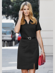 Ladies Open Neck Dress