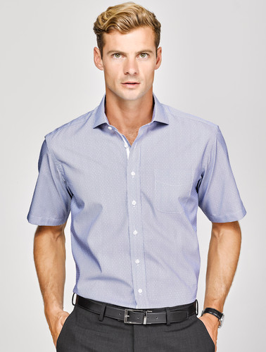 Calais Mens Short Sleeve Shirt