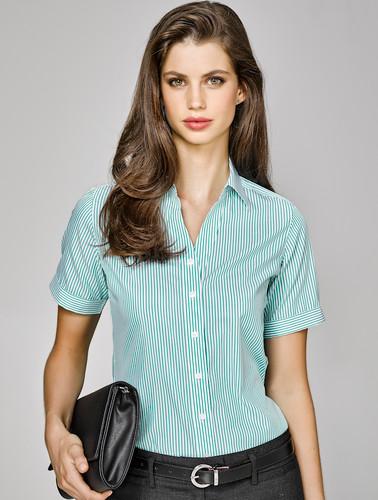 Vermont Ladies Short Sleeve Shirt