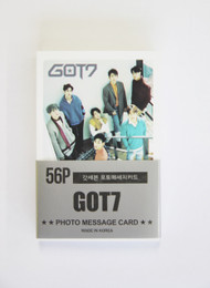 GOT7 Photo Message Card (56P) Postcard Set