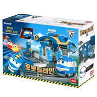 ROBOT TRAIN S2 Kay's Wash Station Play Set / Track Rail Toy Kids