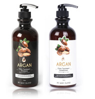 MAY ISLAND Argan Clinic Treatment Shampoo, Conditioner (750ml 25.3 oz) Damaged Hair Care