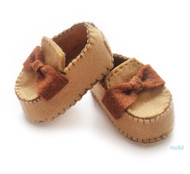 baby girl shoes with bow