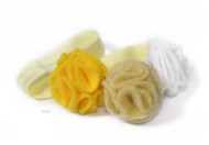 yellow ombre flower headband
