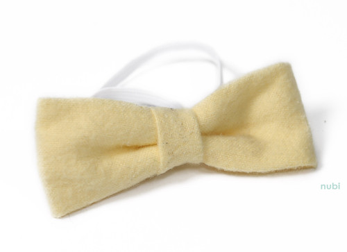 yellow baby bow tie