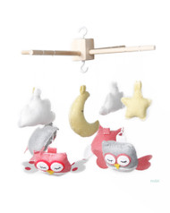 owl mobile room decor baby room teenage room