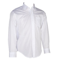 RHCA K-5 Girls Long Sleeve Oxford Shirt  - White