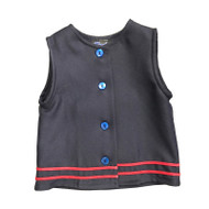 RHCA K-5 Girls Vest - Navy