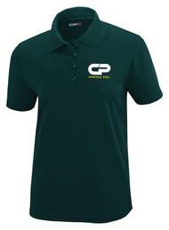 CPS Ladies Performance Short Sleeve Pique Polo - Forest Green