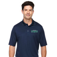 SWG Ash City Core 365 Men's Short Sleeve Piqué Polo Shirt - Navy