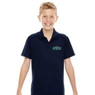 SWG Ash City - Extreme Youth Short-Sleeve Polo - Navy