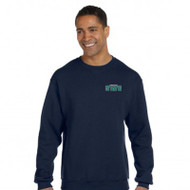 SWG Russell Unisex Dri-Power Fleece Crewneck Sweat shirt - Navy