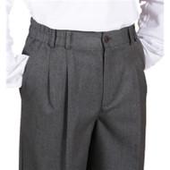RHCA 6-8 Boys Dress Pants - Grey - Boys Sizes