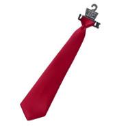 RHCA K5 Boys Zipper Tie - Red