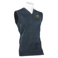 RHCA K-5 Boys Acrylic Vest embroidered - Navy